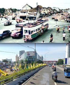 Jl Senen Raya dan Jl Pasar Senen, Jakarta, sekitar tahun 1950, ,., Jl Senen Raya dan Jl Pasar Senen, Jakarta, 2020 Jakarta, Street View, City, Cities