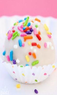 Birthday Cake Oreo Truffle