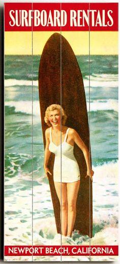 Surfboard Rentals Custom Sign: Beach Decor, Coastal Decor, Nautical Decor, Tropical Decor, Luxury Beach Cottage Decor