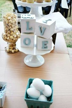 Handmade blocks at Pretty Things For You's bris