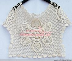 Nostalgia pineapple - cute mom works - florid teaser - florid ☆ teaser crocheted blog; crochet shirt!