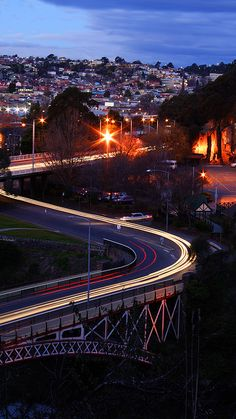 ♥ Kings Bridge over the Derwent River, Hobart ~ Tasmania Beautiful Places In The World, Wonderful Places, Great Places, Places To See, Gold Coast Australia, Australia Living, Tasmania, Outdoor Fun, The Great Outdoors