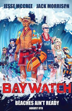 Overwatch: Baywatch Edition Summer Games 2k17