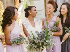 Bridesmaids Etiquette Q&As for the Bride | Photo by: Sunglow Photography | TheKnot.com