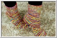 Strickparadies - Stricksocken aus Farbverlauf Wolle