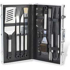 Father's Day Gift Idea: Stock your husband up with every tool he could possibly need for grilling season — all in one convenient kit!