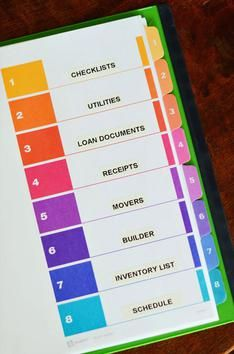 Organization is key when you're moving. Keep your plan all in one place with a moving binder.