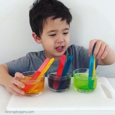 Such a simple, fun way to mix colors! #kindergarten #preschool #homeschool