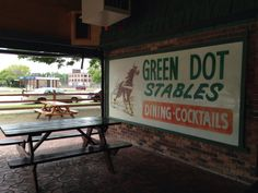 10. Green Dot Stables