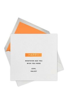 A card from the Paperless Post and J. Crew collaboration. [Courtesy Photo]