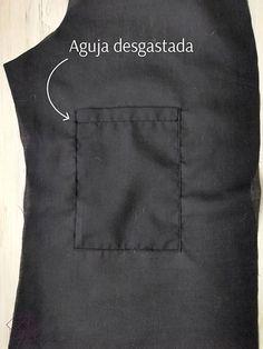 consejos de costura. 10 consejos para coser como un profesional. Design Blog, How To Make Clothes, Sewing Techniques, Apron, Textiles, Mens Tops, Long Sleeve, Diy, Fashion