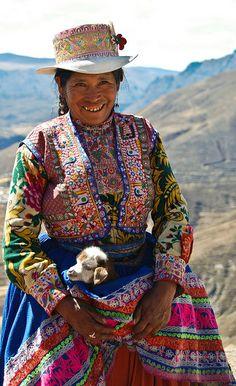Locals near Colca Valley, Peru | Flickr - Photo Sharing!