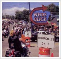 Weirs Beach, NH, bike week