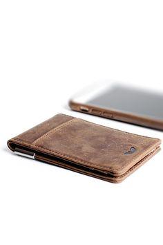 Minimalist Wallet - Vintage Brown