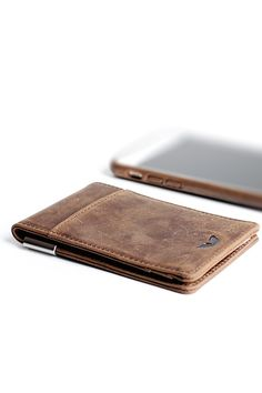 Minimalist Wallet - Vintage Brown