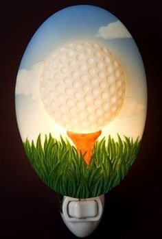 Golf Ball Night Light by Ibis & Orchid Design