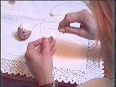vajíčko drátkování - postup