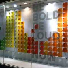 Nice color windows from the GAP.