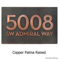 raised copper patina