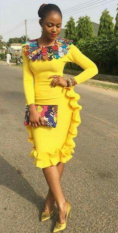 African print accessories in African fashion, Ankara, kitenge, African women dresses… – African Fashion Dresses - 2019 Trends African Dresses For Women, African Print Dresses, African Print Fashion, Africa Fashion, African Attire, African Wear, African Fashion Dresses, African Women, African Prints
