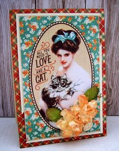 Best of Betsy's: Raining Cats & Dog Cards etc