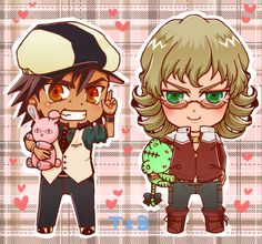 Tiger and bunny by Dann1125