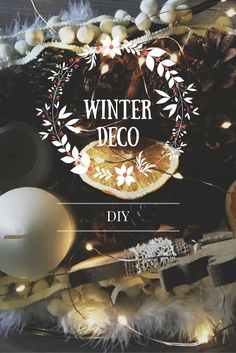 Lovely winter decorations: diy, convenient and perfect to keep them all winter long!
