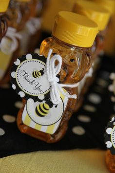 Bumble Bee Party Favors at Carri's Bee-Day!!