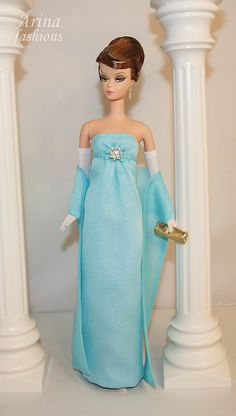 Arina Fashions | Real fashions for Silkstone Barbie and Fashion Royalty Dolls