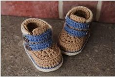 Bildergebnis für Free Crochet Baby boy Shoes Patterns