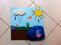 Koloběh vody - tvoření Origami, Classroom, Christmas Ornaments, Holiday Decor, Hair, Crafts, Xmas Ornaments, Christmas Jewelry, Paper Folding