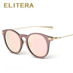 ELITERA Summer Retro Round Sunglasses Men Women Vintage Sun Glasses Eyewear b735a50b7a