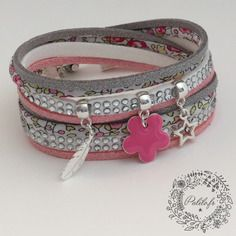 Mon bracelet liberty girl eloise rose by palilo