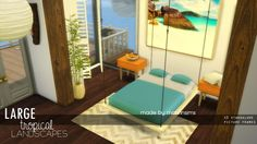 Large Tropical Landscapes at Marvin Sims via Sims 4 Updates