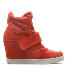 high-top wedge sneaker by Penny Sue. - want!!!!!