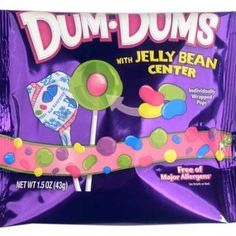 dum dums with jelly bean center - Buscar con Google