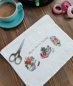 Cross Stitch, Crochet, Stitching, Bath Linens, Dish Towels, Craft, Needlepoint, Felting, Dots