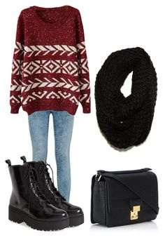 """""""Untitled #1181"""" by fashionstring ❤ liked on Polyvore featuring Jeffrey Campbell, 3.1 Phillip Lim and Paula Bianco"""