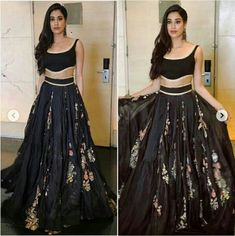 The skirt's kinda cool Indian Fashion Trends, Indian Designer Outfits, India Fashion, Nice Dresses, Casual Dresses, Fashion Dresses, Traditional Fashion, Traditional Outfits, Indian Attire