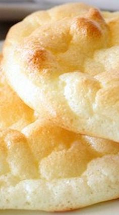 """Pillowy Light Cloud Bread (more of a """"bread replacement"""" ~ contains no flour)"""