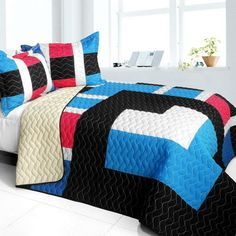 Pondweed Quilt Set (Full/Queen Size)