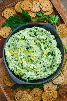 Whipped Feta and Herb Dip