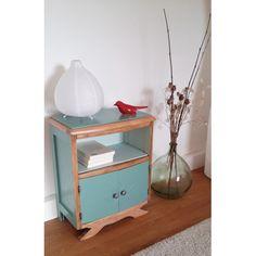 table de chevet vintage annes 30 x187 vert decoration vintage home - Table De Chevet D Occasion