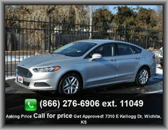 2013 Ford Fusion SE Sedan   Rear Door Type: Trunk, Wheel Diameter: 17, Heated Driver Mirror, Rear Hip Room: 54.4, Driver And Passenger Knee Airbags,