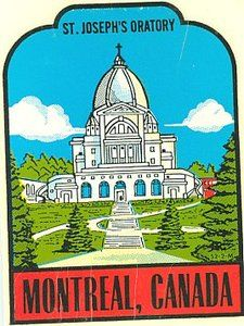 Climb the famous steps of St. Joseph Oratory and get a superb view of Montreal Quebec, Montreal Canada, Cool Countries, Countries Of The World, Saint Joseph, Us Travel Destinations, Window Decals, Vintage Travel Posters, Museums