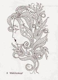 Bobbin Lace Patterns, Tatting Patterns, Crochet Motif, Irish Crochet, Bruges Lace, Romanian Lace, Victorian Lace, Lacemaking, Lace Heart