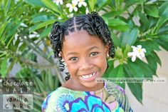 Curled Front Boxed Braids and Staggered Back Cornrows #Hairstyle #Tutorial | Chocolate Hair / Vanilla Care. Totally adorable!