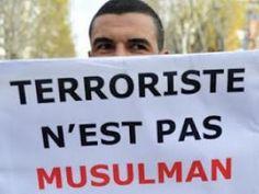 """Le rassemblement musulman crie """"haut et fort"""" le rejet du terrorisme à Paris • Hellocoton.fr"""