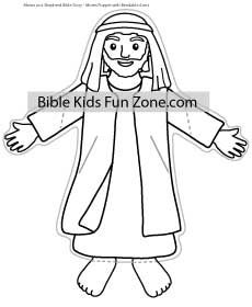 Moses Puppet Craft Arms Fold Bible Lessons For Kids Moses