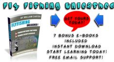 Fly Fishing Unleashed Review, useful e-book collection on different aspects of fly fishing. Designed for beginners but intermediate and advanced anglers will get a lot of info from these too!